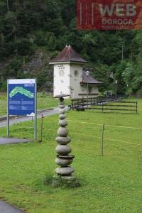 Дзен-скульптура в Aareschlucht