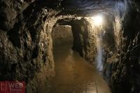 Туннель с подсветкой в Aareschlucht