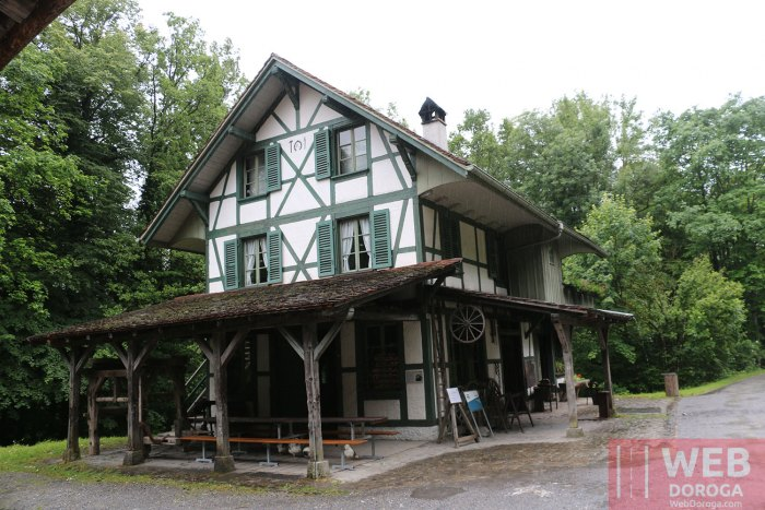 Дом кузнеца в музее Ballenberg
