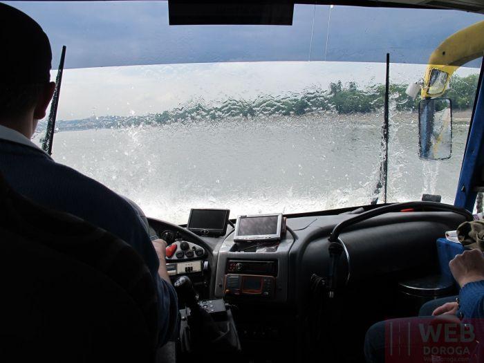 Водный автобус в Будапеште - плывем по Дунаю