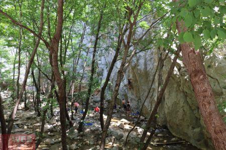 Скалолазы в Национальном Парке Пакленица