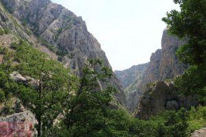 Ущелья в Национальном Парке Пакленица