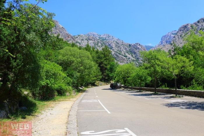 Парковка для машин Национальный Парк Пакленица