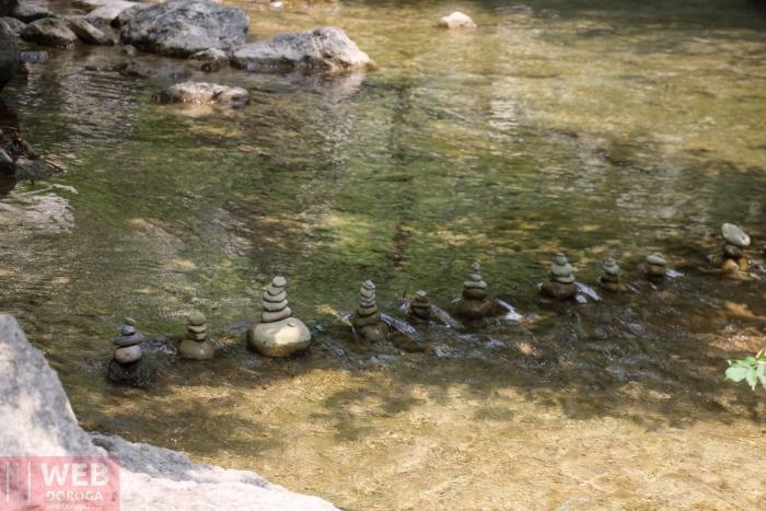 Камни в стиле Дзен