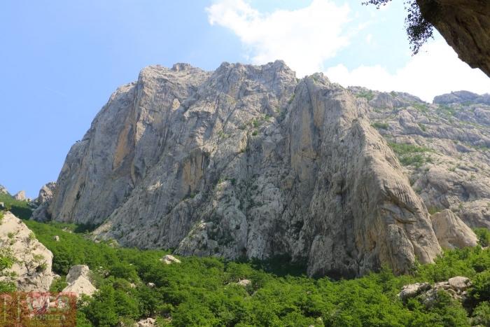 Горный хребет в Национальном Парке Пакленица