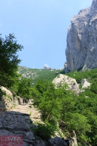 Тропа через горы