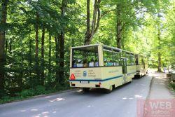 Автобус для туристов Плитвицкие озера - вид сзади
