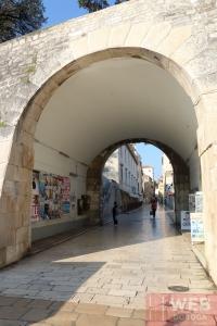 Вход в старый город Задара