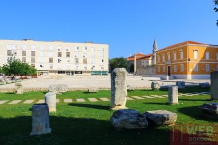 Римское наследие в Задаре - недалеко от музея Архиологии