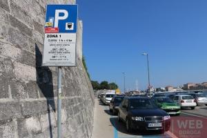 Цены на парковку Задара