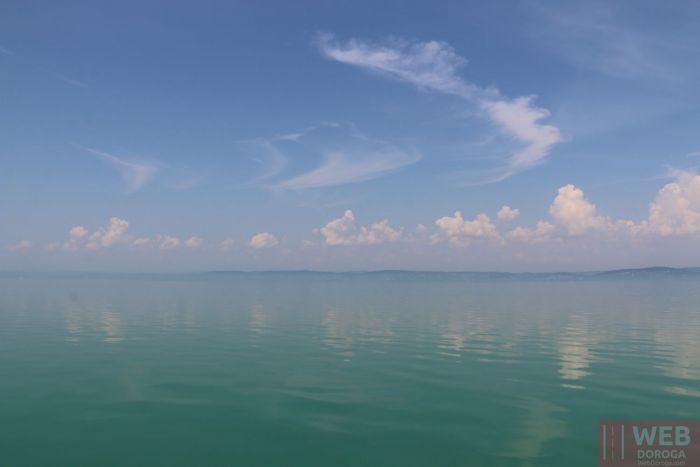 Озеро Балатон , Венгрия из центра