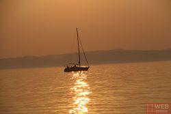 День 2 - закат на озере Балатон 1