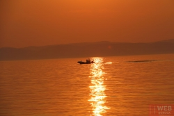 День 2 - закат на озере Балатон 2
