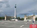 Проспект Андраши - площадь Будапешта вид на стелу