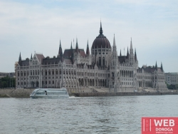 Будапешт - здание Венгерского парламента