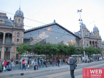 Железнодорожный вокзал Будапешта