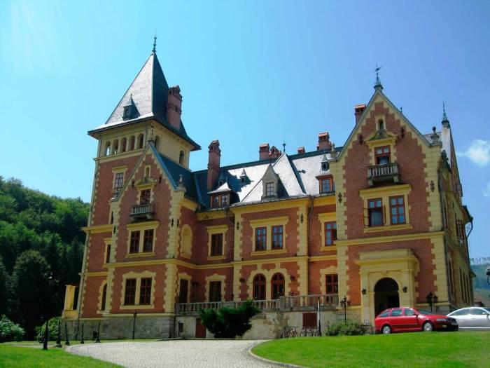 Замок в деревушке Parádsasvár