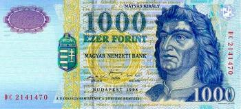 Купюра 1000 Венгерских форинтов