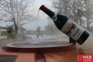 Термальный бассейн Ксоино с запахом вина