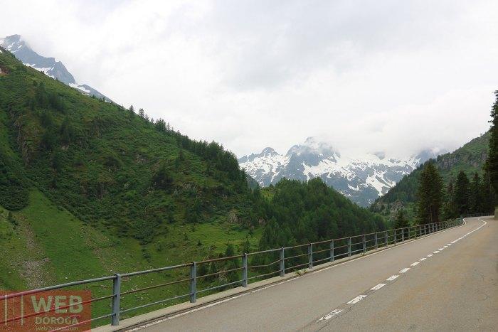 Дорога через Альпы