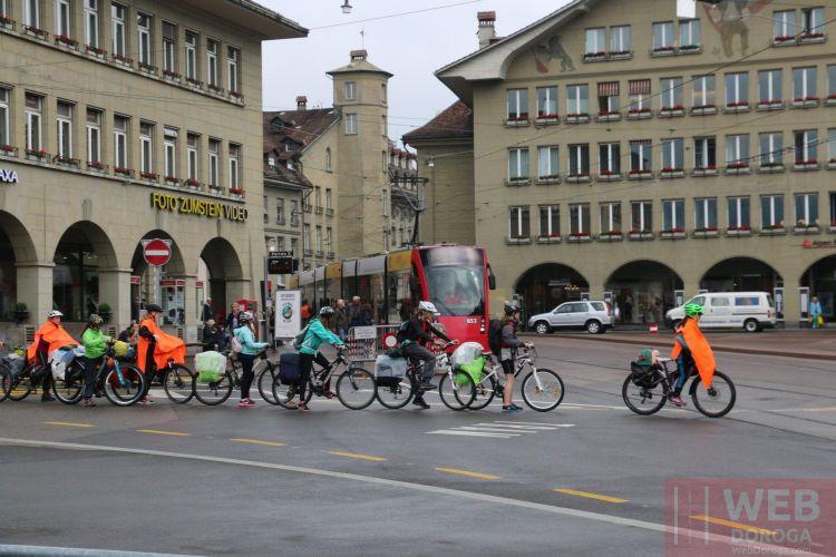 Вело-экскурсия в Берне