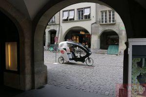 Новый вело-транспорт на улицах Берна