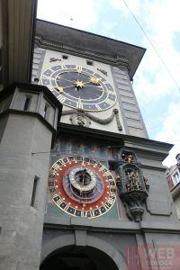 Вид на часы Цитглогге