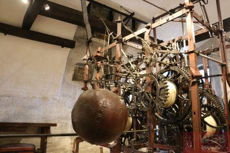 Механизм часов Цитглогге часть 4