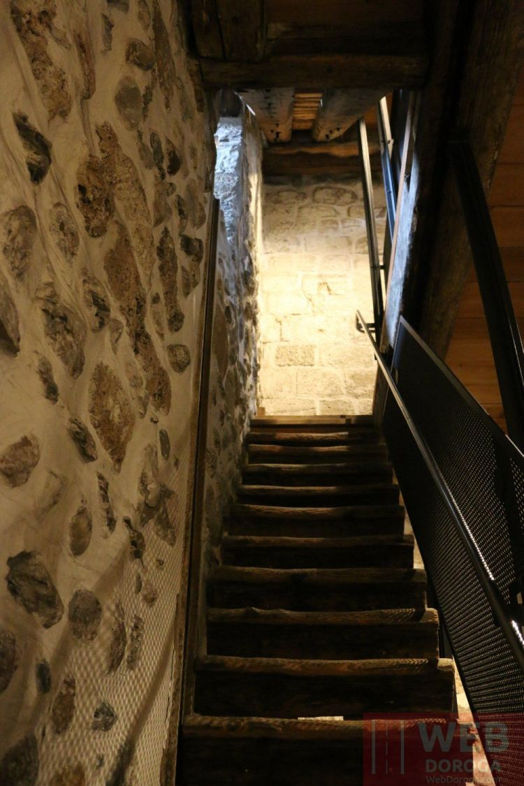 лестница на часах Цитглогге