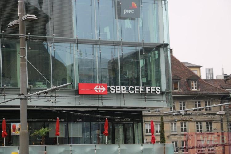 Вокзал Берна - вид с улицы