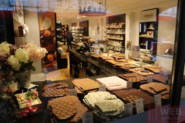 Магазин сладощей в Берне
