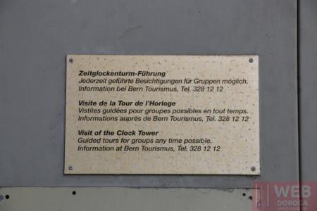 Цены на посещение башни Цитглогге