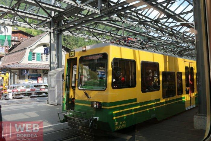 Вокзал на Lauterbrunen