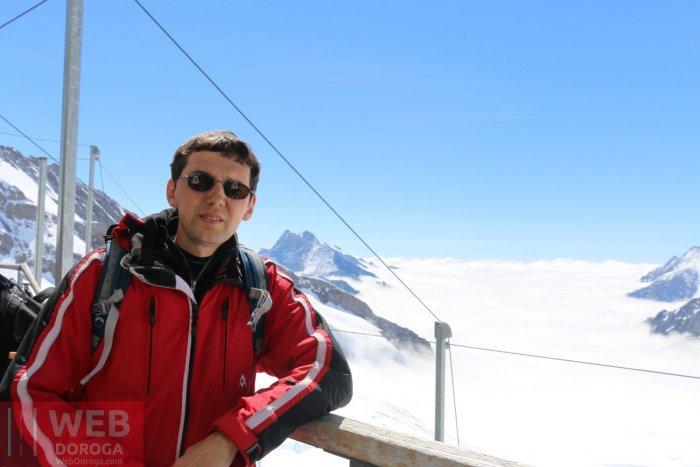 Привет с крыши Европы  - Jungfrau