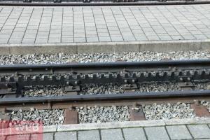 Зубчатая горная железная дорога в Швейцарии