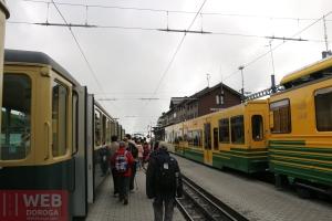Станция пересадки по пути на Юнгфрау
