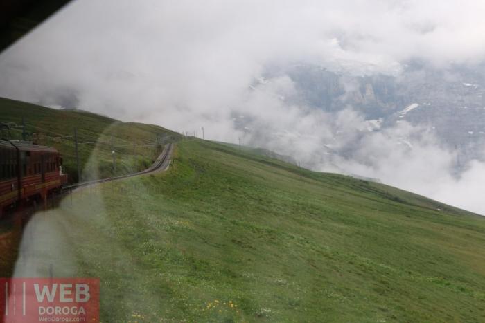Все выше и ближе к горе Юнгфрау