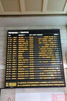Расписание поездов на железнодорожном вокзале Венеции Санта-Лючия