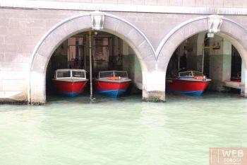 Служба быстрого реагирования на Венецианских каналах - депо на воде