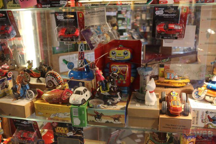 Магазин винтажных игрушек в Венеции