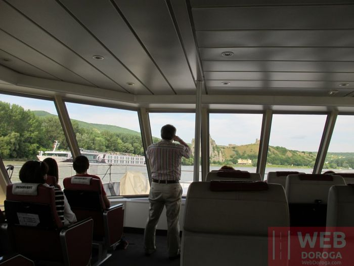 Twin City Liner прогулка Вена - Братислава по Дунаю