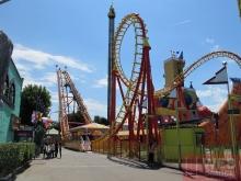 Горки - Экстремальные аттракционы в парке Пратер