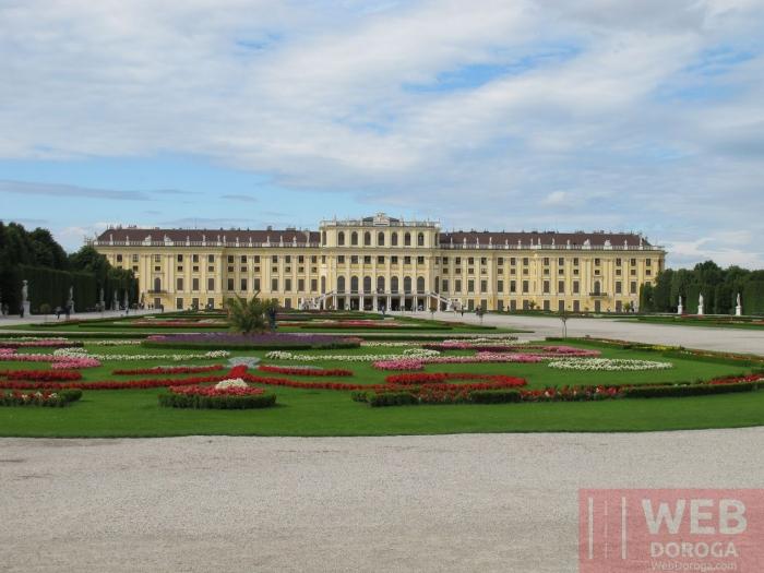Шёнбрунн (Schloß Schönbrunn) - Вена, Австрия