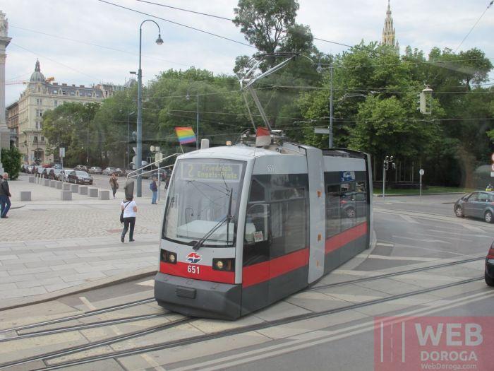 Электротранспорт Вены - Венские трамваи