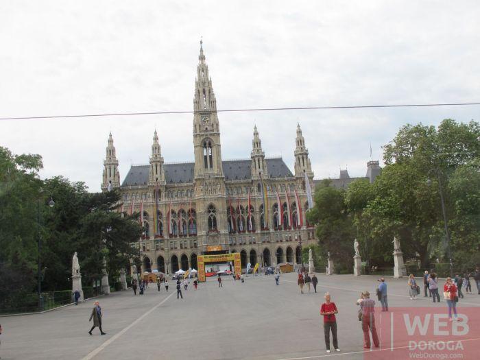 Вена- городская ратушь