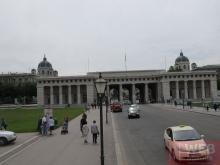Центральный въезд в Хофбург и Мария-Терезиен-Плац в Вене