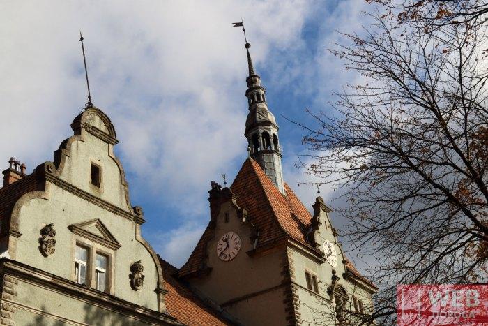 Башни и барельефы Дворца Шенборнов