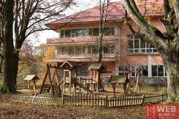 Лечебный корпус санатория Карпаты