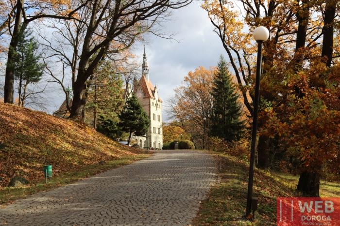 Дорога к Дворцу Шенборна