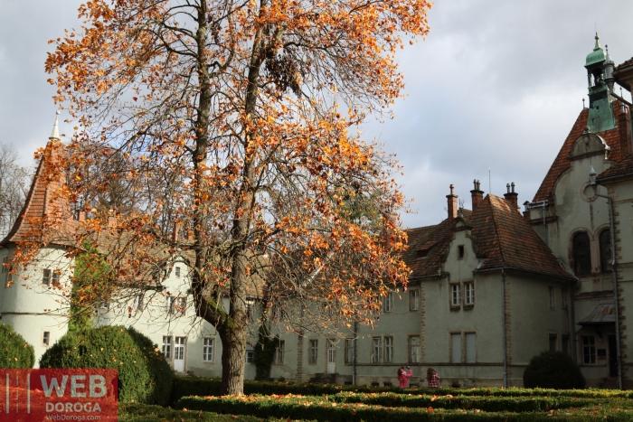 Архитектура дворца - замка Шенборна